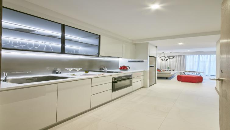 Kitchen at Oakwood Studios Singapore - Citybase Apartments