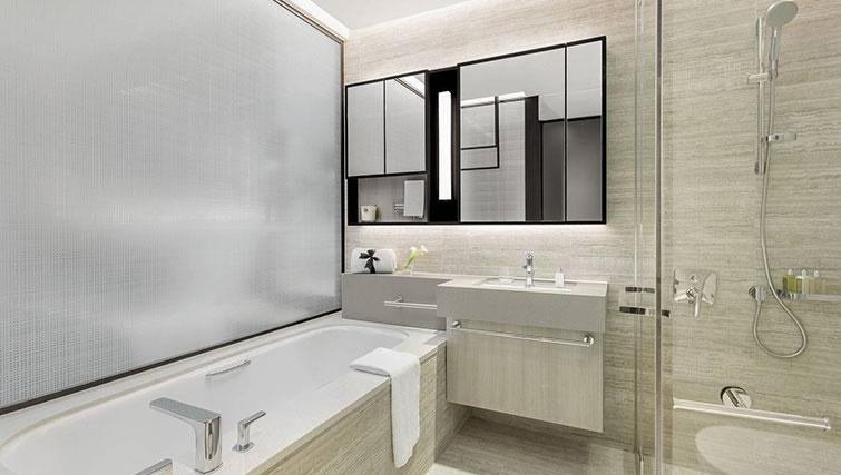 Bath at Ascott Orchard Apartments, Singapore - Citybase Apartments