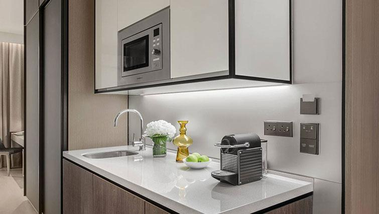 Kitchenette at Ascott Orchard Apartments, Singapore - Citybase Apartments