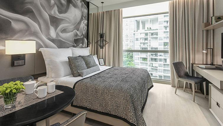 Double bedroom at Ascott Orchard Apartments, Singapore - Citybase Apartments