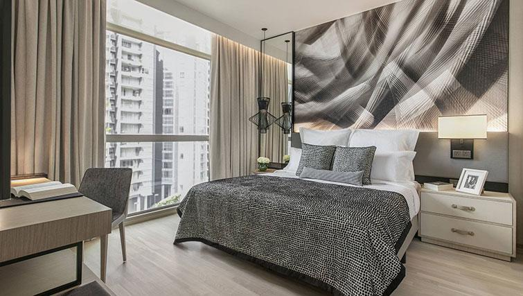 Bedroom at Ascott Orchard Apartments, Singapore - Citybase Apartments
