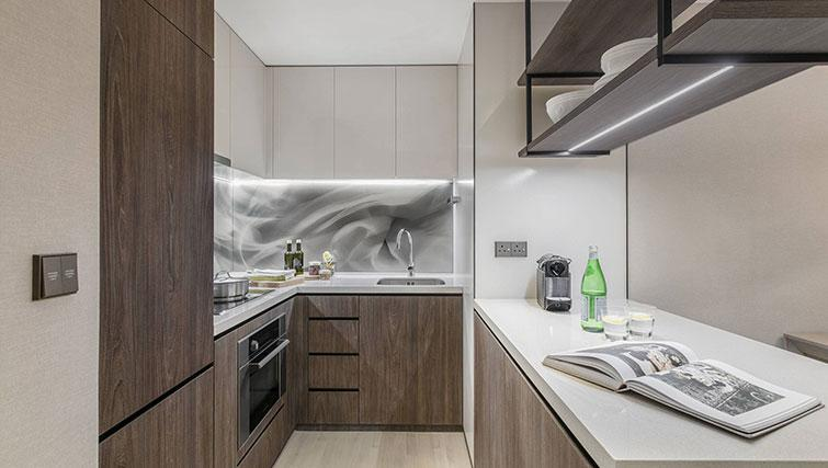 Kitchen at Ascott Orchard Apartments, Singapore - Citybase Apartments