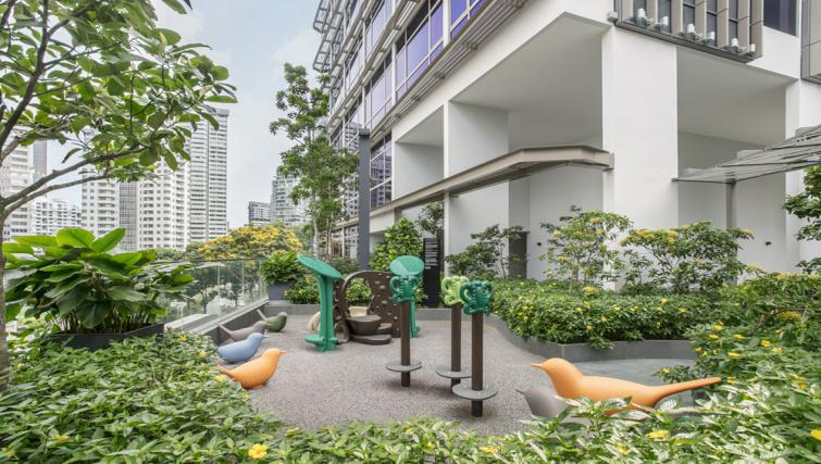 Play area at Ascott Orchard Apartments, Singapore - Citybase Apartments