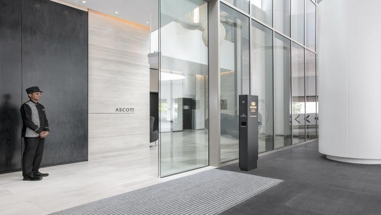 Lobby at Ascott Orchard Apartments, Singapore - Citybase Apartments