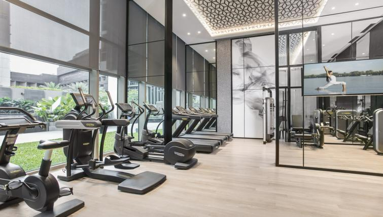 Gym at Ascott Orchard Apartments, Singapore - Citybase Apartments