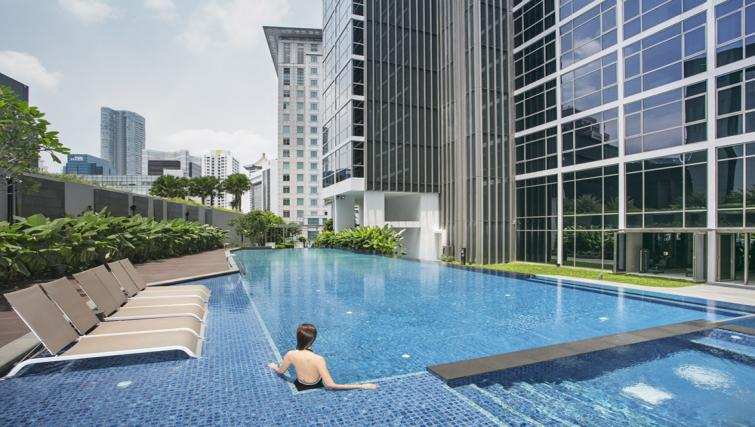 Pool at Ascott Orchard Apartments, Singapore - Citybase Apartments