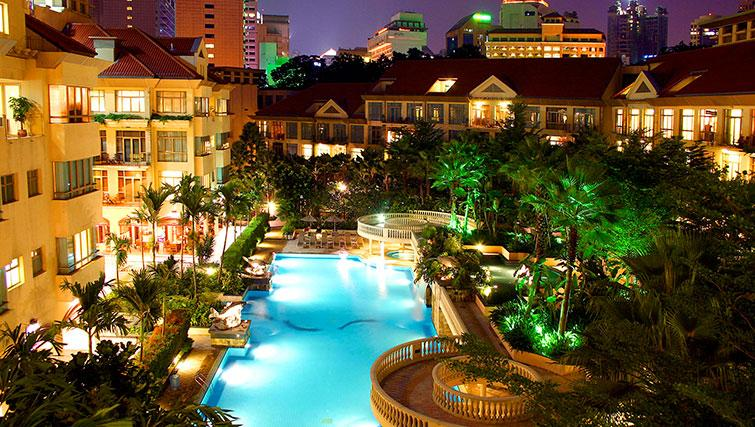 Pool at Treetops Executive Residences on Orange Grove Road, Singapore - Citybase Apartments