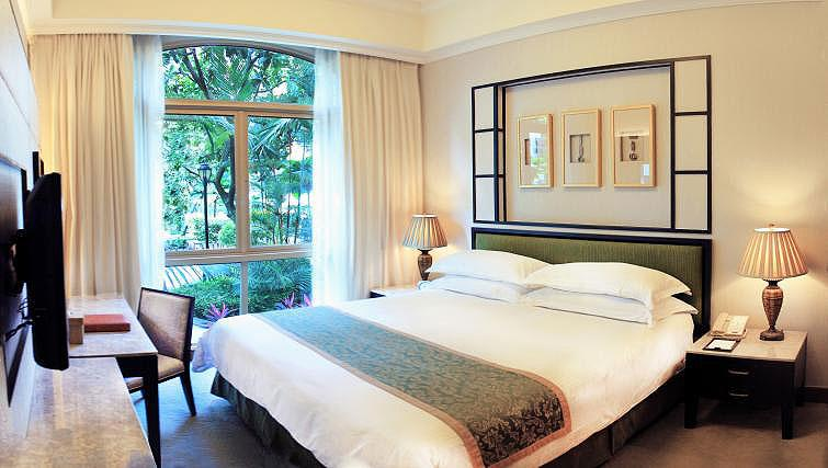 Bedroom at Treetops Executive Residences on Orange Grove Road, Singapore - Citybase Apartments