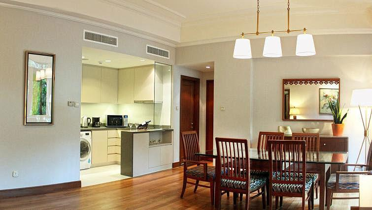 Kitchen at Treetops Executive Residences on Orange Grove Road, Singapore - Citybase Apartments