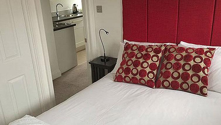 Cosy bedroom at Alum Chine Beach House - Citybase Apartments
