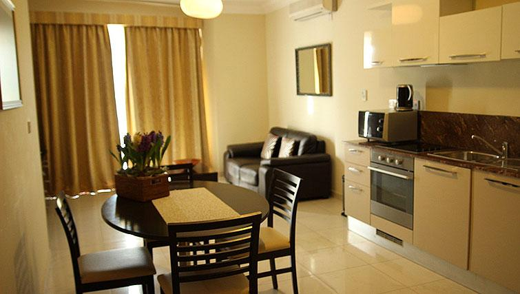 Living area at Onyx Suites & Apartments - Citybase Apartments