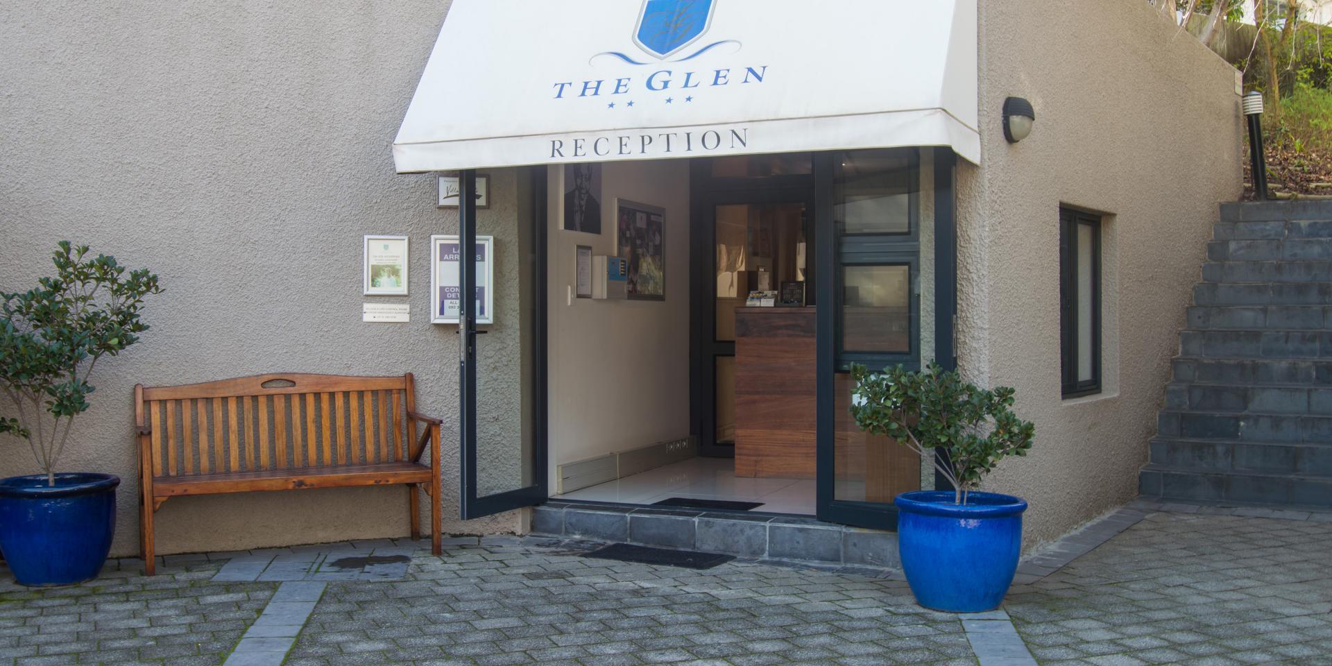 Entrance at The Glen Apartments - Citybase Apartments