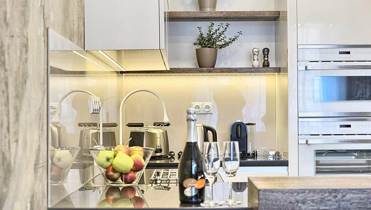 Kitchen facilities at Krizovnicka Residence - Citybase Apartments