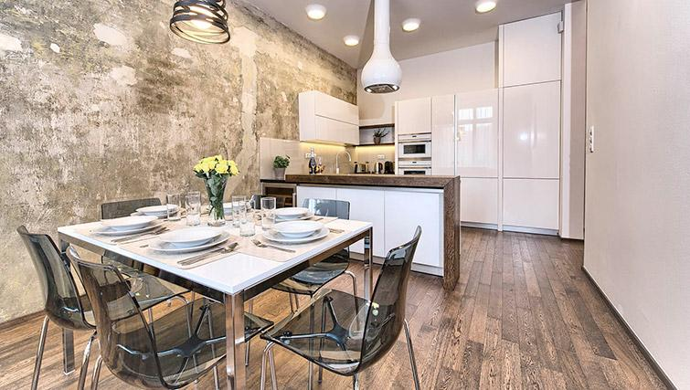 Dining space at Krizovnicka Residence - Citybase Apartments