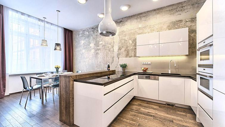 Equipped kitchen at Krizovnicka Residence - Citybase Apartments