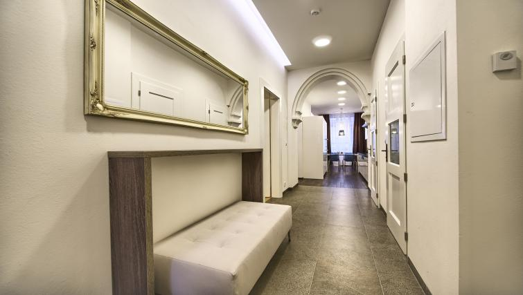 Hallway at Krizovnicka Residence - Citybase Apartments