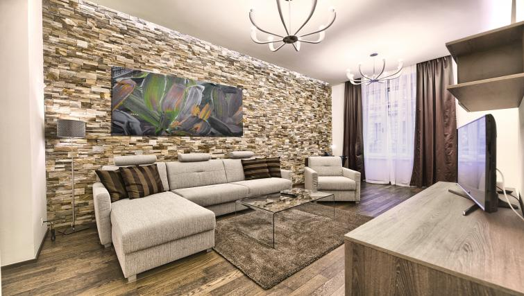 Living room at Krizovnicka Residence - Citybase Apartments
