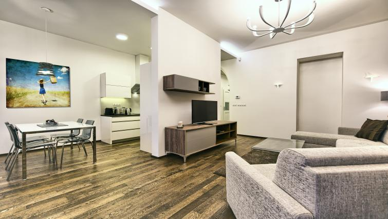 Living space at Krizovnicka Residence - Citybase Apartments
