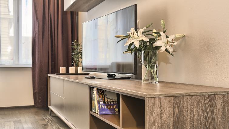 TV at Krizovnicka Residence - Citybase Apartments