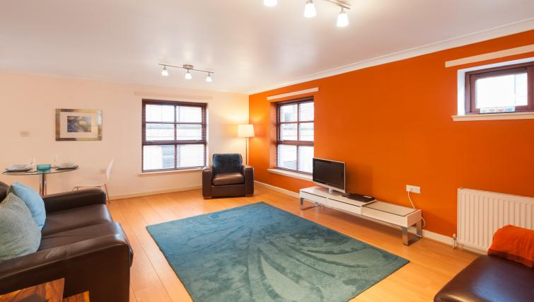 Living space at Greyfriars Apartment - Citybase Apartments