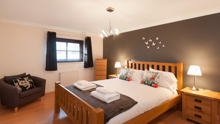 Double bedroom at Greyfriars Apartment - Citybase Apartments
