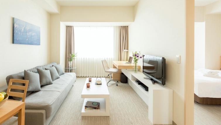 Lounge at Nankai Osaka Apartments - Citybase Apartments