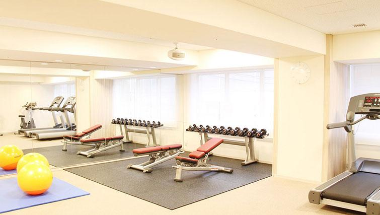 Fitness centre at Nankai Osaka Apartments - Citybase Apartments