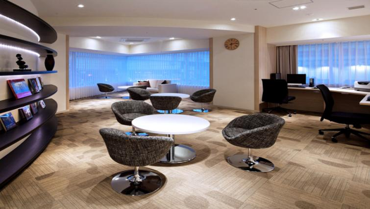 Lounge furnishings at Nankai Osaka Apartments - Citybase Apartments