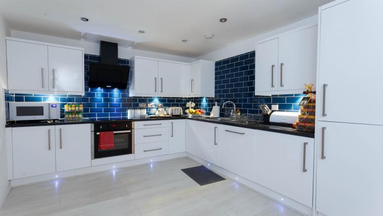 Kitchen at Nazarene Apartments - Citybase Apartments