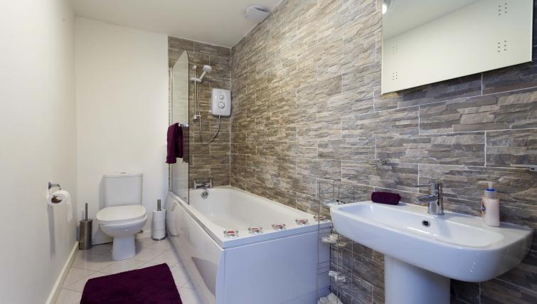 Bathroom at Nazarene Apartments - Citybase Apartments
