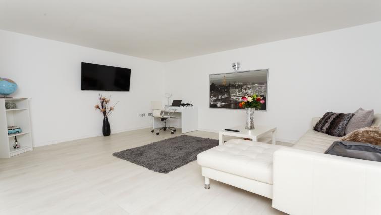 Living area at Nazarene Apartments - Citybase Apartments