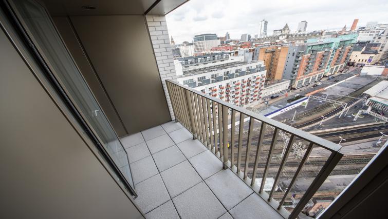 Balcony at Cambridge Street Apartments - Citybase Apartments