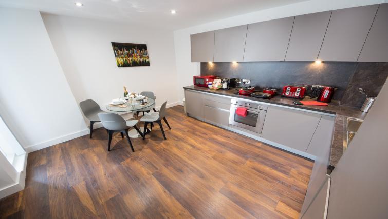 Kitchen at Cambridge Street Apartments - Citybase Apartments