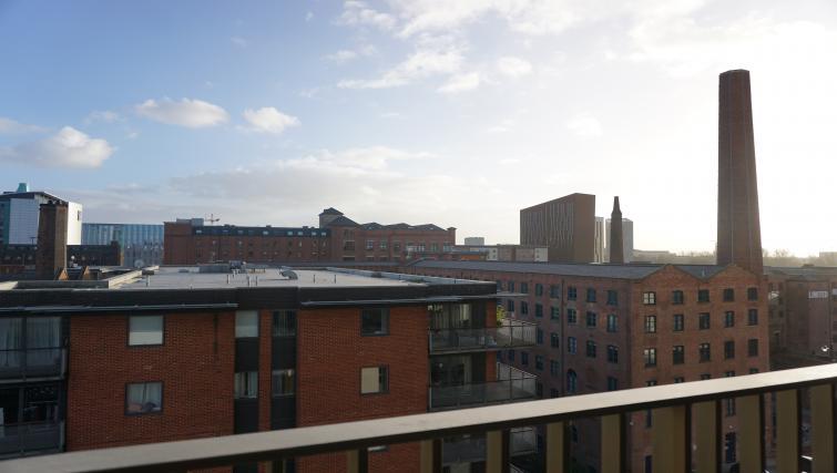 Balcony view at Cambridge Street Apartments - Citybase Apartments