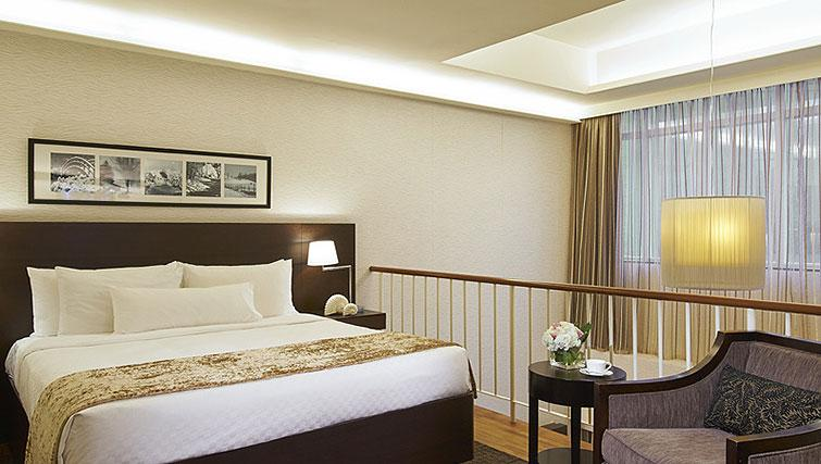 Bed at Orchard Scotts Residences, Singapore - Citybase Apartments
