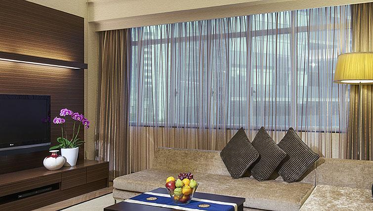 Living room at Orchard Scotts Residences, Singapore - Citybase Apartments