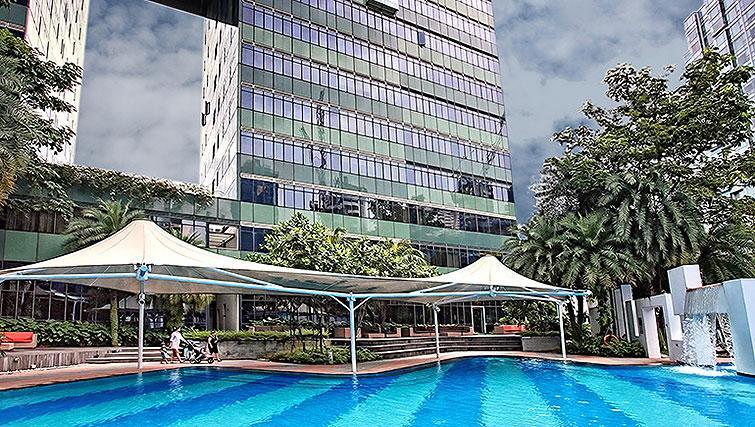Pool at Orchard Scotts Residences, Singapore - Citybase Apartments