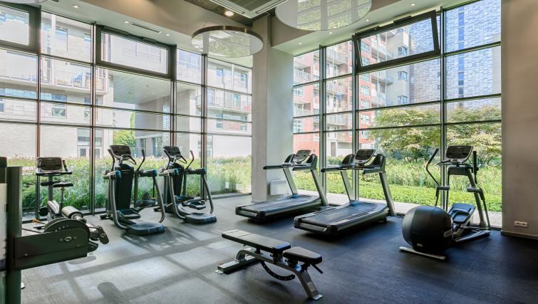 Gym at Qbik Suites - Citybase Apartments