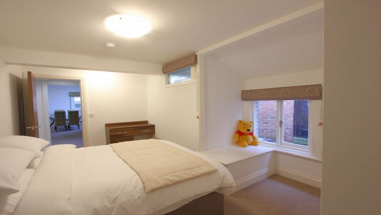 Double bed at The Castle Collection - Citybase Apartments