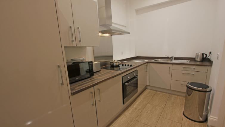 Equipped kitchen at The Castle Collection - Citybase Apartments