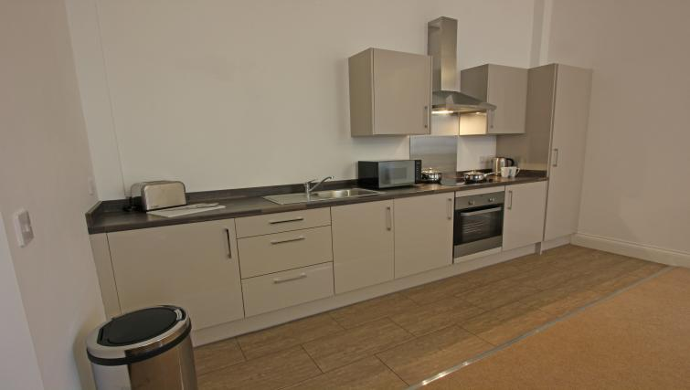 Kitchen at The Castle Collection - Citybase Apartments