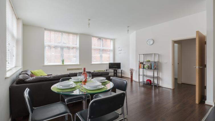 Dining table and chairs at The Mint Apartments - Citybase Apartments