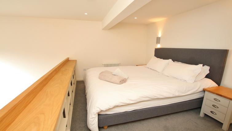 Bedroom at Broughton Street Lofts - Citybase Apartments