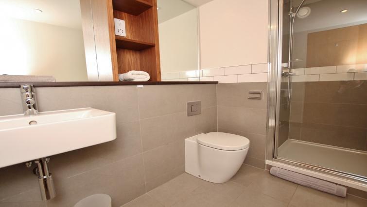 Bathroom at Broughton Street Lofts - Citybase Apartments