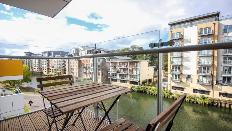 Balcony at The Bridge Apartments - Citybase Apartments
