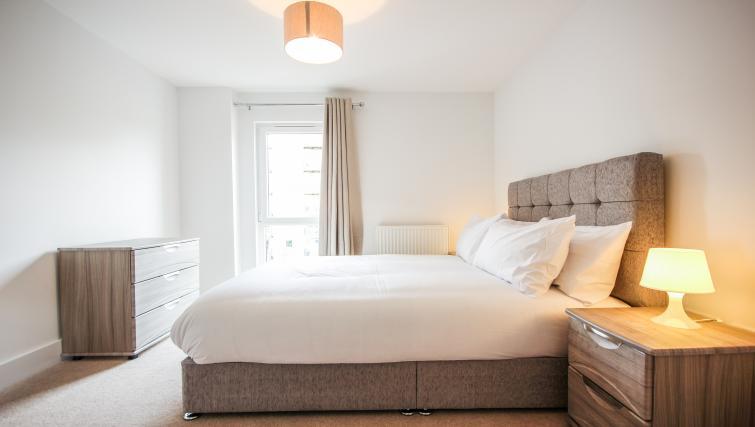 Bed at The Bridge Apartments - Citybase Apartments