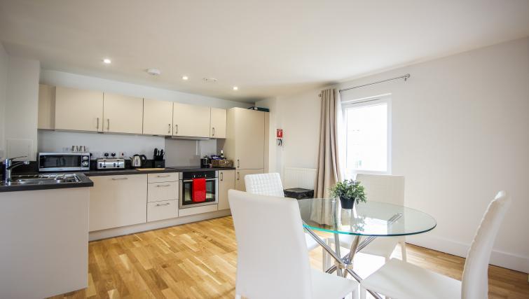 Kitchen at The Bridge Apartments - Citybase Apartments