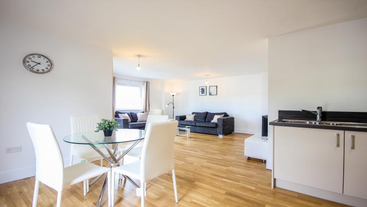 Living area at The Bridge Apartments - Citybase Apartments