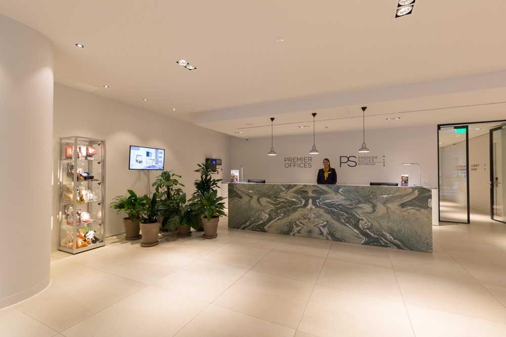 Reception at Premier Suites Plus Rotterdam - Citybase Apartments