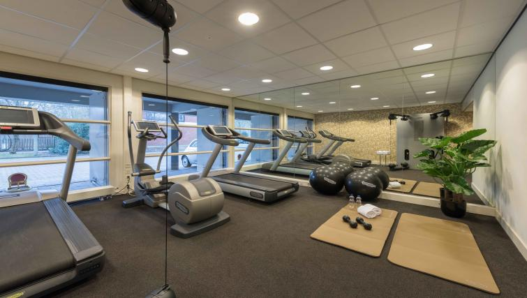 Gym at Htel Amsterdam BuitenveldertHtel Amsterdam Buitenveldert - Citybase Apartments